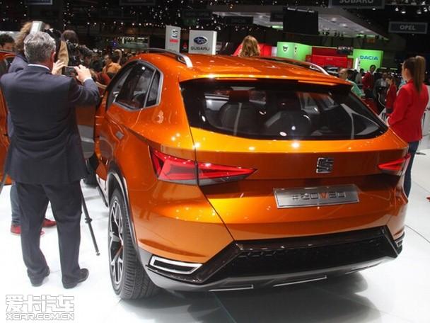 西雅特概念车SUV 20V20日内瓦车展首发