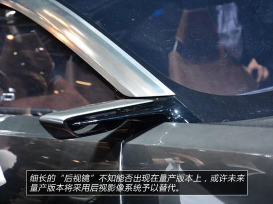 设计足够梦幻阿斯顿・马丁DBX车展实拍