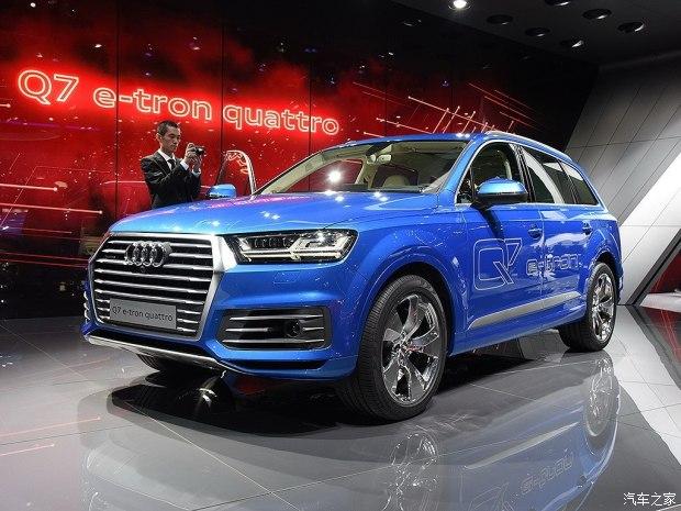 换汽油发动机 奥迪Q7 e-tron将进口中国