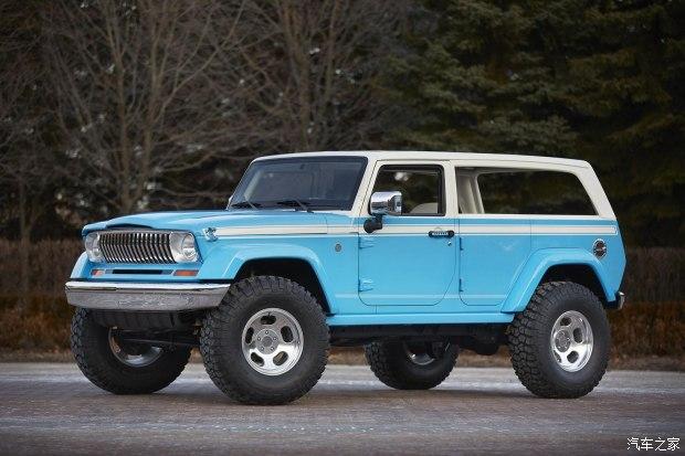 3月28日亮相 Jeep发布7款概念车官图