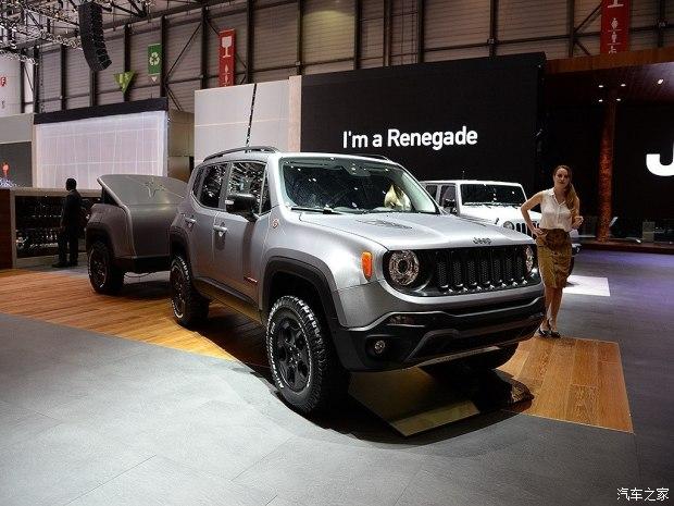 Jeep自由侠Hard Steel将亮相上海车展
