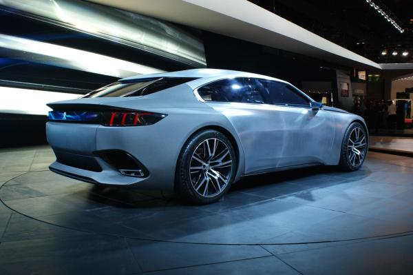 对标大众CC 标致将推出408GT四门轿跑车图片 33416 600x399