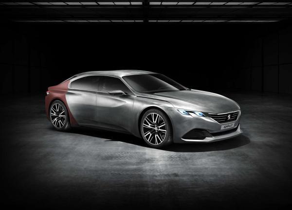 对标大众CC 标致将推出408GT四门轿跑车图片 24082 600x431