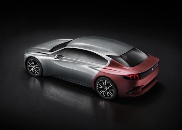 对标大众CC 标致将推出408GT四门轿跑车图片 18081 600x431