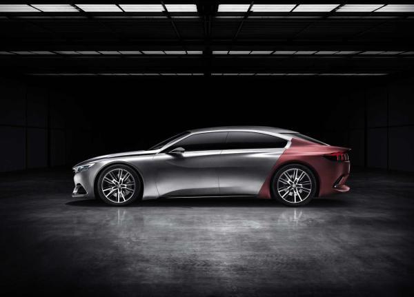对标大众CC 标致将推出408GT四门轿跑车图片 25789 600x431