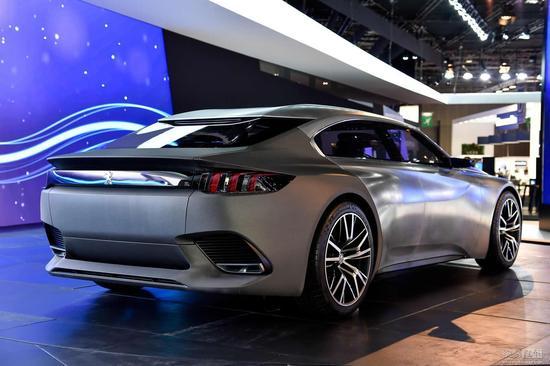 对标大众CC 标致将推出408GT四门轿跑车图片 36365 550x366