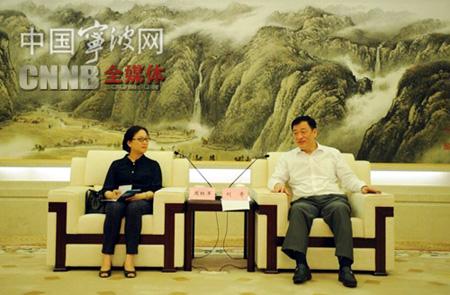 刘奇与网媒总编围坐一堂