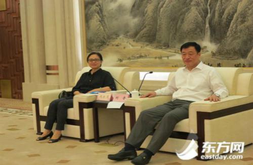 上海与宁波一衣带水 将用互联网力量为宁波发展鼓与呼