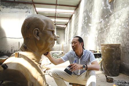 """新宁波人张聪:将雕塑做出""""三魂七魄""""来"""