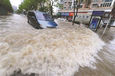 南京6月两场大暴雨淹新城 排水考核难达标-大
