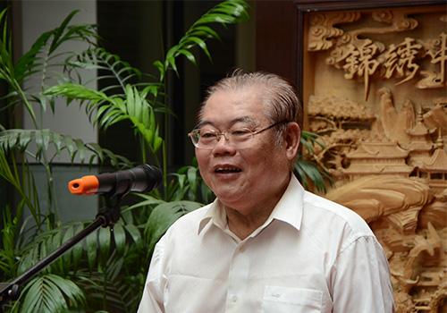 中共中央宣传部原常务副部长,全国政协原常委龚心瀚宣布开幕
