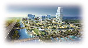 梅山崛起一座国际海洋科技生态城