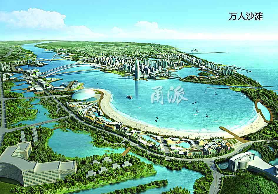 宁波国际海洋生态科技城未来会出落成啥模样