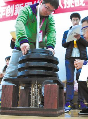 你知道由20克小木条搭起的承重结构能撑起多少重量吗