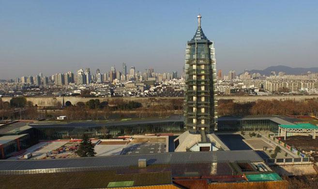 明朝南京 琉璃塔