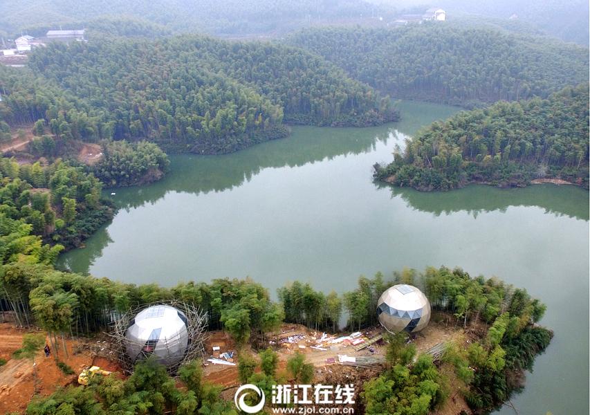 浙江春节风景图片
