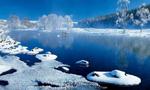 零下40℃的大兴安岭林海雪原景观