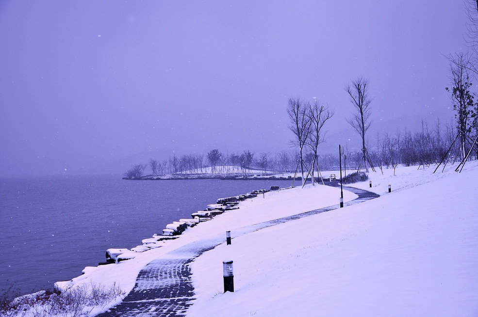 宁波风景 镇海冬天