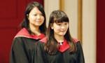 日本真子公主出席英国莱斯特大学毕业典礼
