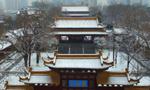 """南京迎降雪 城市铺""""白毯"""""""