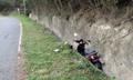 大陆女游客在台湾骑电动车冲入山沟不幸身亡
