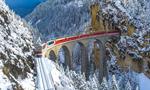 欧洲海拔最高铁路线穿越冰雪