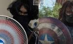 泰国网友给电风扇涂色 COS美国队长