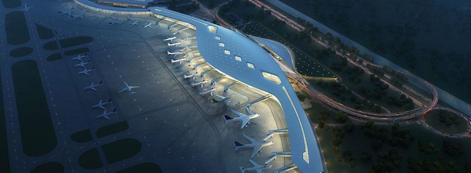 宁波机场三期扩建工程