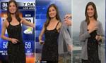 天气预报女主播服装遭投诉 直播中被迫穿外套