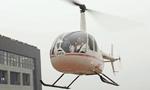 浙江土豪用直升机带朋友兜风 噪音扰民被吐槽
