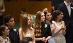 联合国国际学校毕业典礼在纽约举行