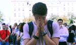 法国全国默哀一分钟悼念尼斯恐袭案遇难者