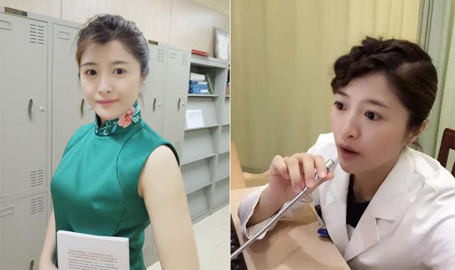 杭州最美医生:身材火辣 穿着旗袍上班