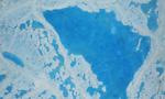 NASA观测北极海冰融化:美丽却令人忧心的蓝宝石