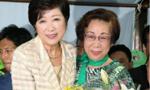首位女性当选东京都知事 才华出众曾任女防长