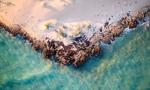 无人机拍澳大利亚海岸线
