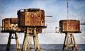 探秘英国二战防空工事 孤立海岸锈迹斑斑