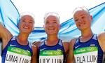 三胞胎姐妹共战奥运马拉松