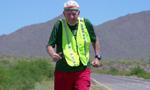 93岁二战老兵花费近3年 完成跑步横越美国壮举