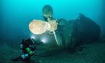爱尔兰海域惊现战船残骸