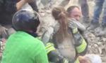 她还活着!意大利10岁女孩地震中获救