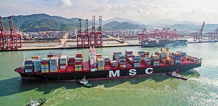 宁波舟山港集团加速与世界经济融合互动 迈向一流大港