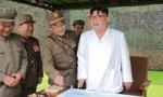 金正恩指导朝鲜人民军进行弹道火箭发射训练