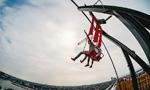 100米高空荡秋千是种怎样的体验?