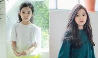 韩国8岁女孩被称最美女童!