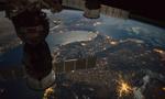 宇航员拍摄地球夜景:灯火辉煌 海面如镜