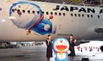 """""""哆啦A梦""""飞机起航 执飞东京至上海"""