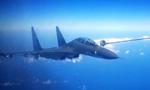 中国空军多型战机飞越宫古海峡