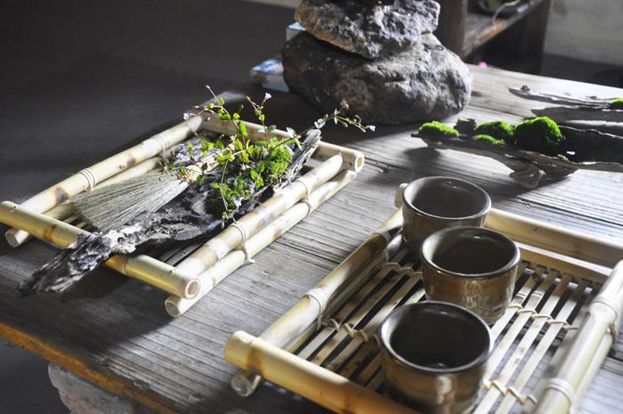 素心妙手裁新绿 90后女孩手作草木盆景寄情传统文化