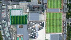 杭州球迷众筹建成空中球场